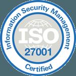 CyberSmart's ISO 27001 certification logo