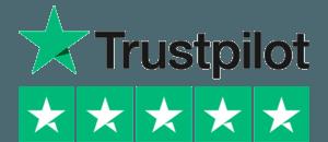 trustpilot logo with trustpilot five stars