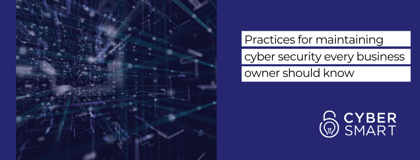 Practices for maintaining cyber security every business owner should know